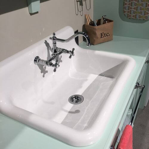 vintage style kitchen sink