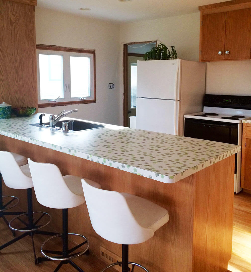 Sneak Peek: Kristen's Kitchen Renovation Using Wilsonart