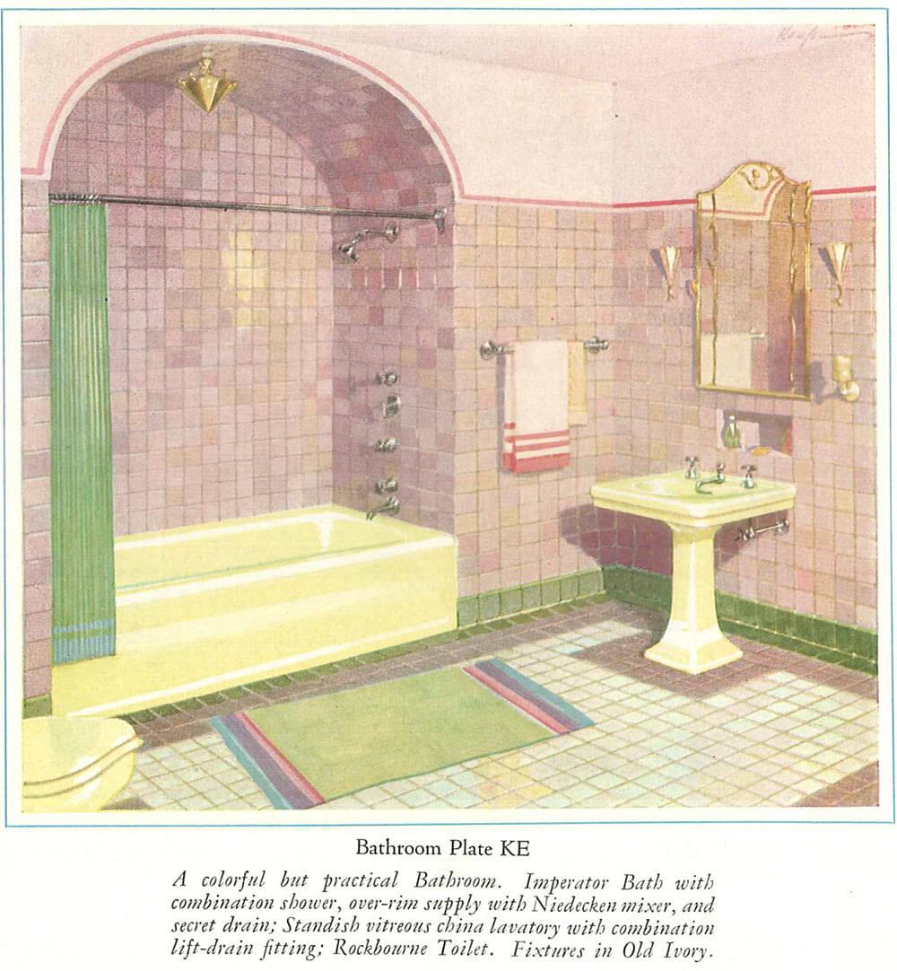 Vintage Ivory Bathroom