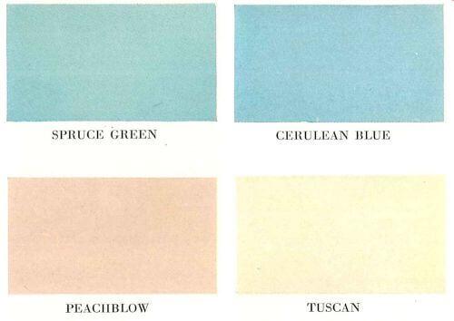 Kohler colors 1950s
