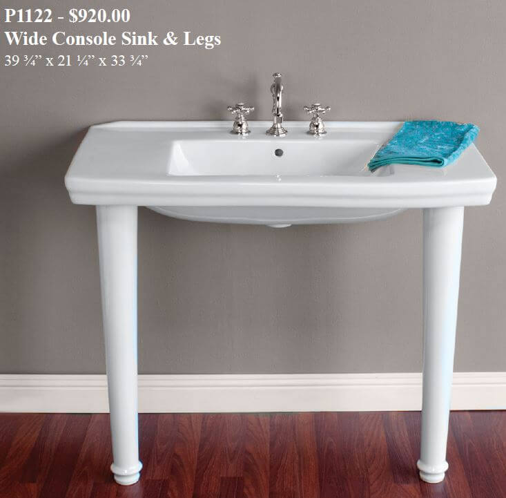 Vintage Style Sink Console Sinks Console Sink Strom Plumbing