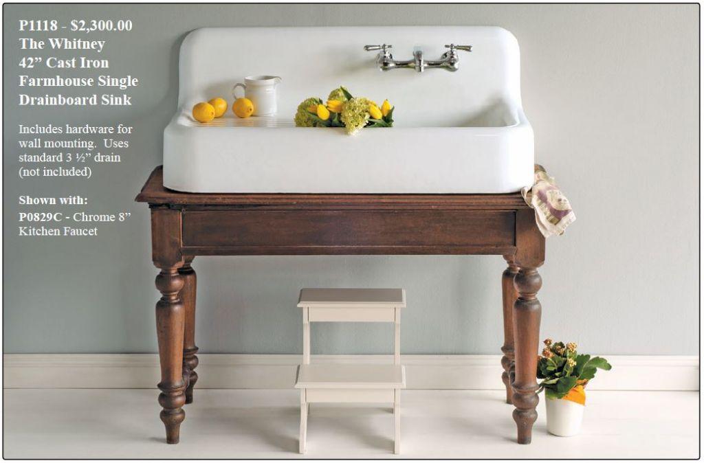 farmhouse kitchen sink from strom plumbing