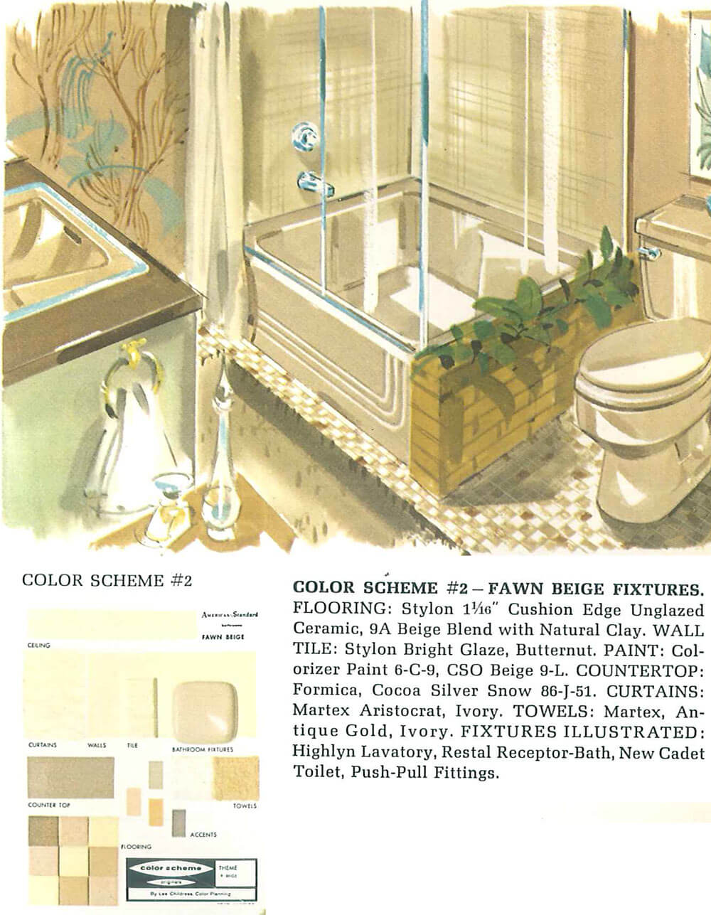 Decorating a beige bathroom: Color history and ideas from six ...