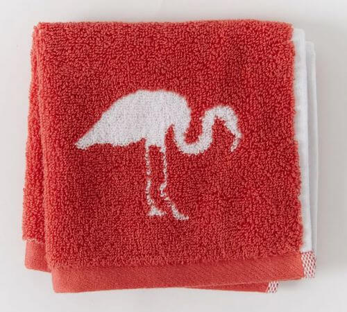 flamingo towel