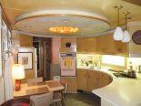 Eames in a Box: A 1959 Spartan Carousel trailer with a fantastic circular kitchen
