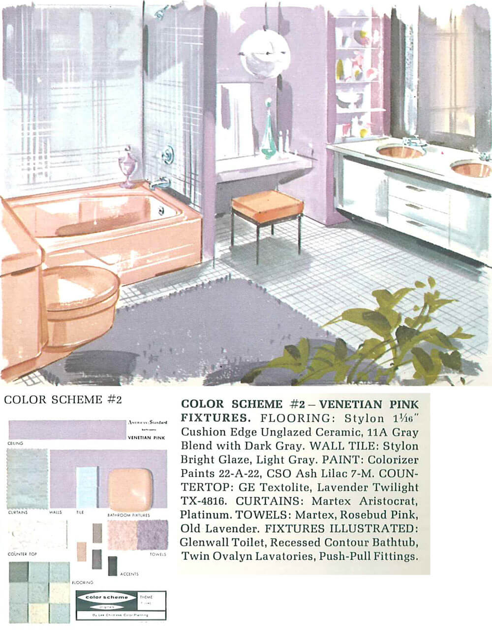 The color pink in bathroom sinks, tubs and toilets - from 1927 ...