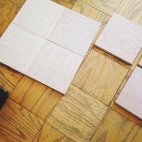 parquet flooring unit block