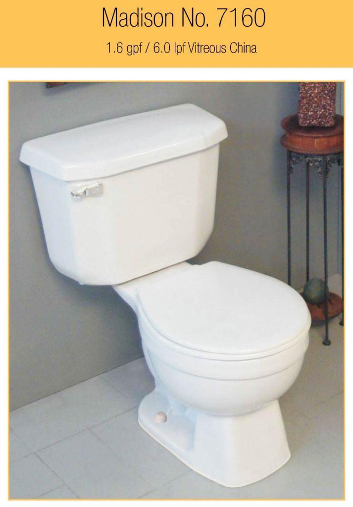 peerless madison toilet