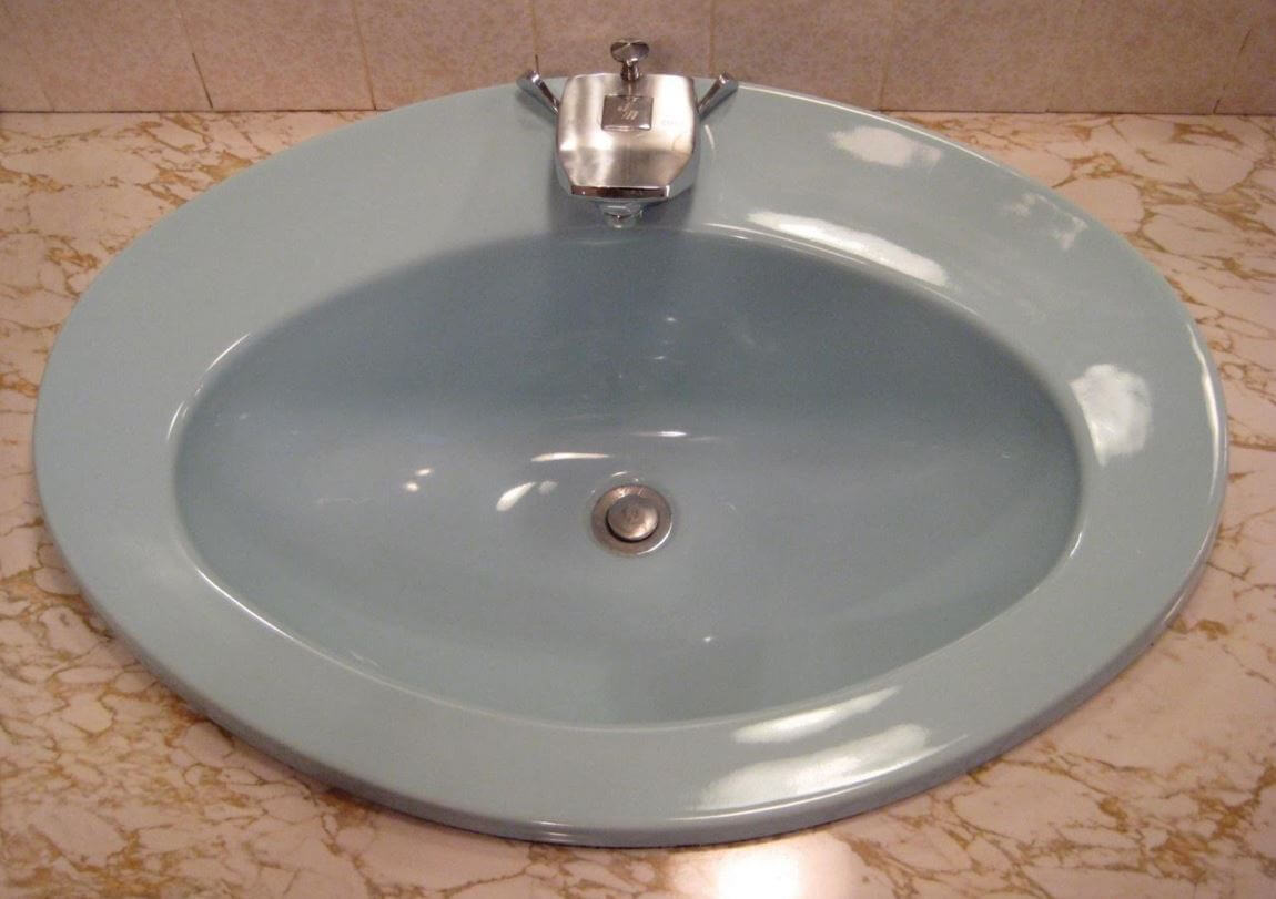 Bathroom Fixtures Plus two rare vintage universal rundle bathroom faucets (plus a sink