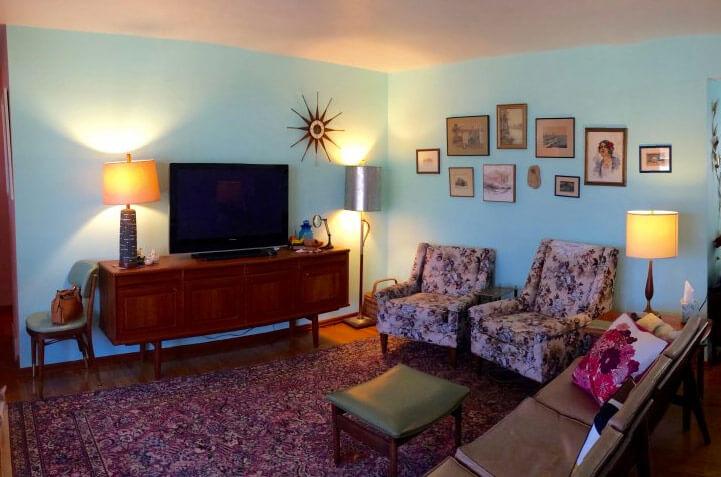 Oriental Rugs In Midcentury Living Rooms Me Likey Retro