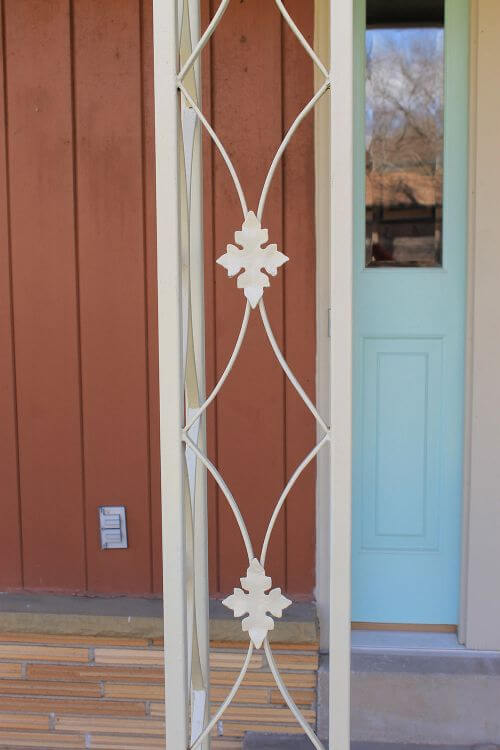 midcentury iron work