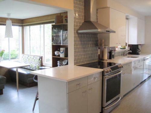 midcentury modern kitchen