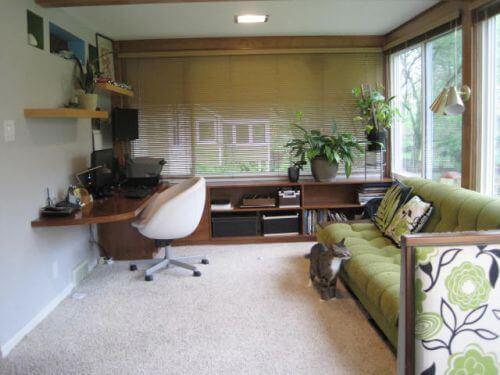 midcentury office