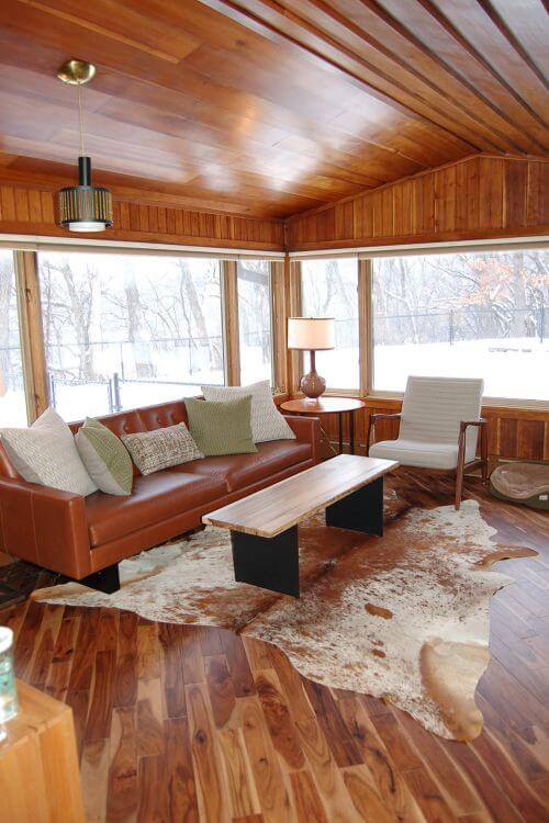 midcentury living room