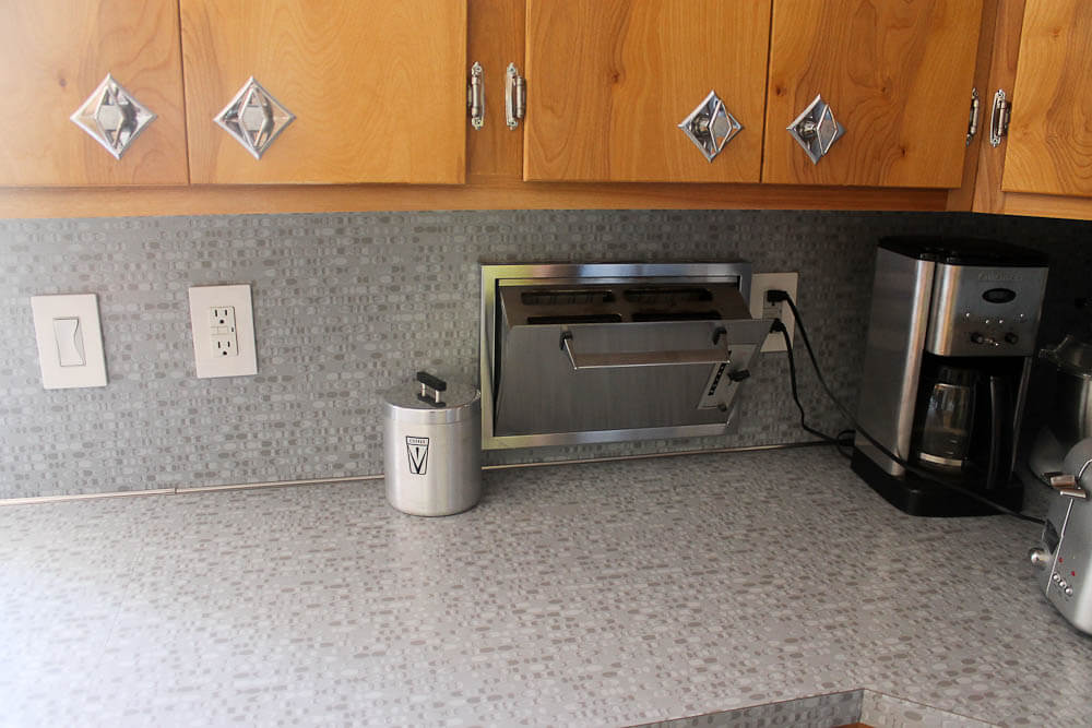 formica ellipse in kitchen