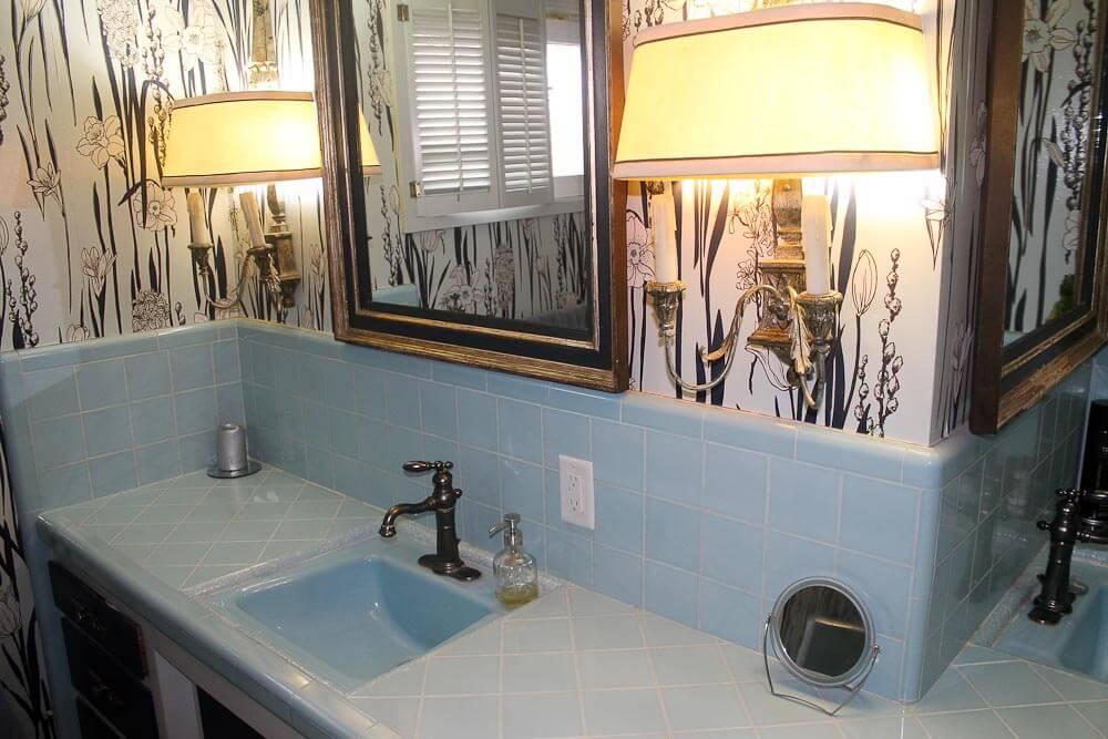 Bathroom Sinks Las Vegas a fun desert modern midcentury modest house in las vegas - retro