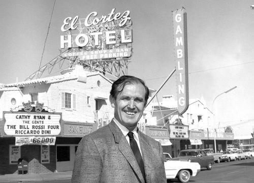 El Cortez Jackie Gaughan 4/22/1965