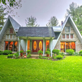 double a frame house