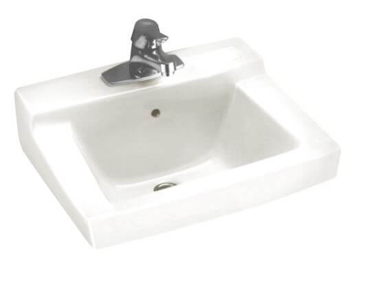 Elegant Wall mount sinks on metal legs