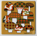 Georges Briard tiles — Tens of thousands of pieces of New Old Stock — 30+ designs — discovered