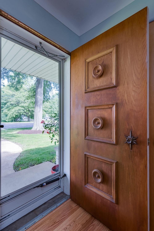 retro vintage front door