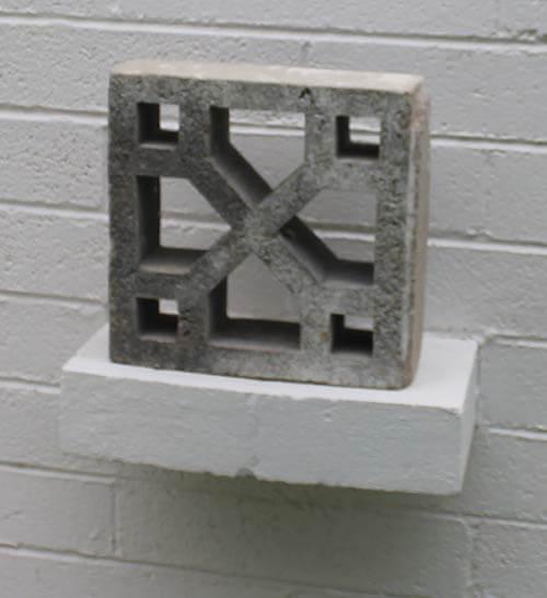 Who makes vintage decorative concrete block
