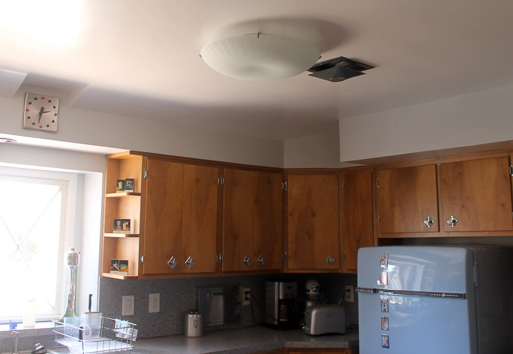 kitchen cabinets to ceiling heidi amp recreate a 1950s birch wood kitchen for 6422