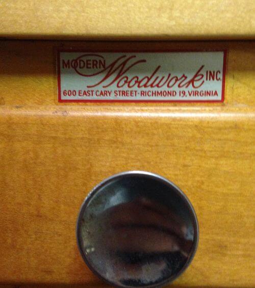 salesman sample kitchen cabinet vintage