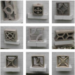 34 designs of breeze block in Jack LeVine's collection — let's look at each one