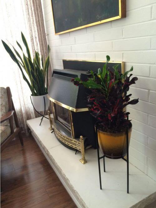 retro plant stands