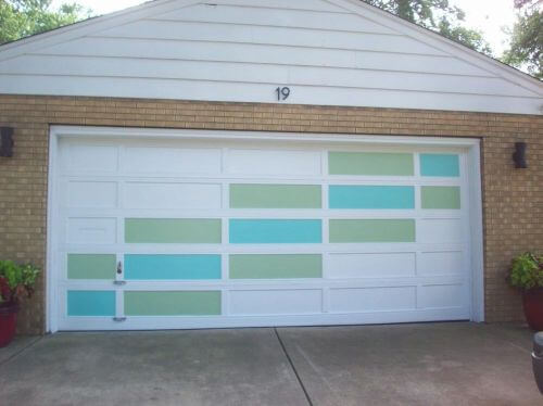 retro garage door