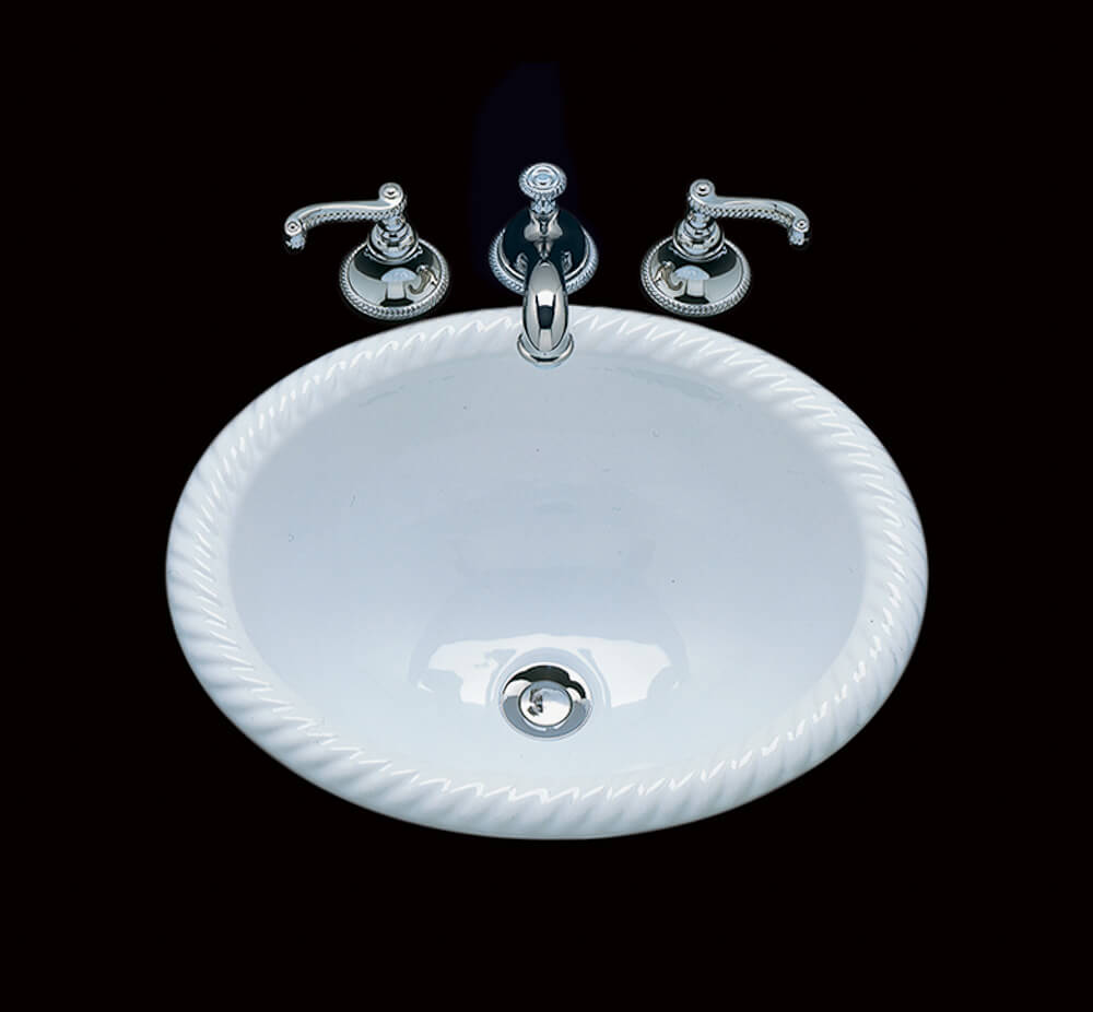 Small bathroom sinks from Bates and Bates - in 15 colors - Retro ...