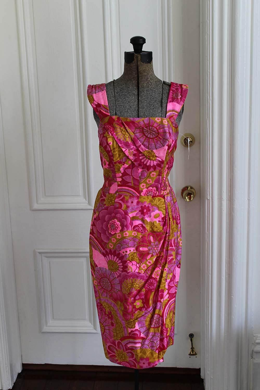 Paradise Hawaii sarong vintage dress