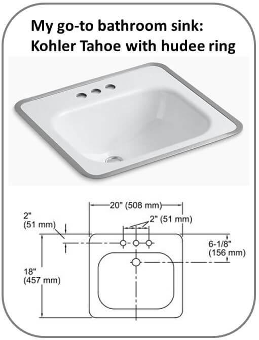 Best midcentury modern bathroom sink