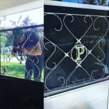 "Geoff and Beth find a vintage ""P"" for their screen door grille — it only took four years!"