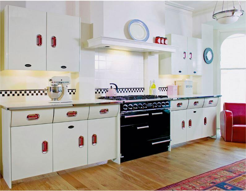 Kitchen Cabinets Vintage Style english rose-vintage-style kitchen cabinets from john lewis of