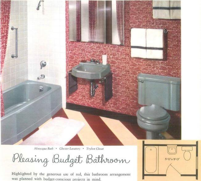 Simple kohler gray bathroom u