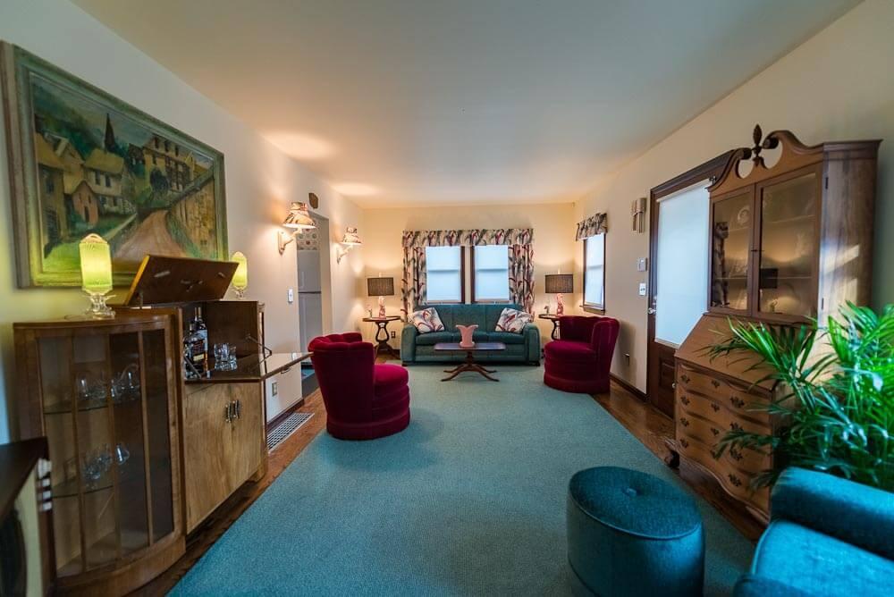 deco style living room