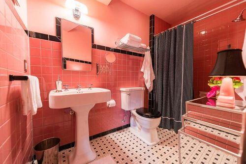 A New, Easy To Buy Pink Bathroom Tile: American Olean Antique Rose. Part 36