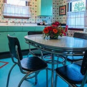 vintage kitchen by wren and willow
