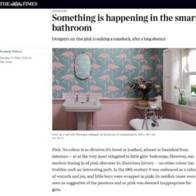 pink bathrooms in times of london