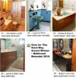 Vote for The Hard Way Award Winner – Bathroom Remodel 2016