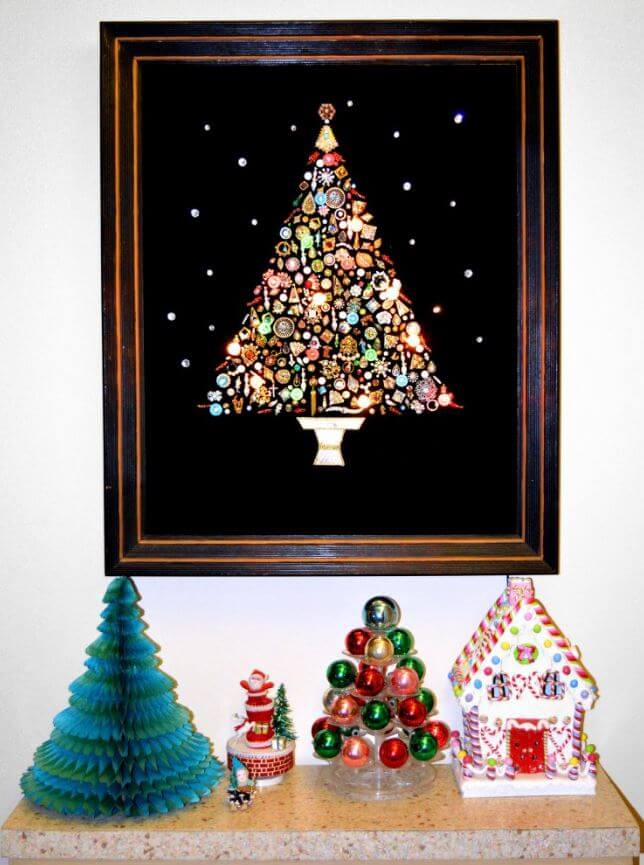 Costume Jewelry Christmas Trees 17 Glittery Glamorous Photos