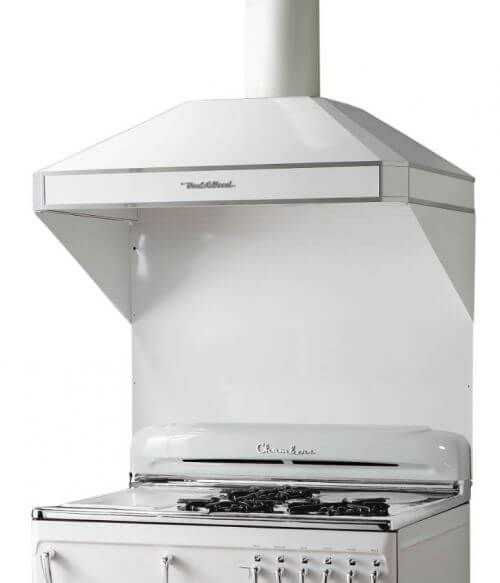 Retro Range Hood Exhaust Fan Complete With Retro Logo From