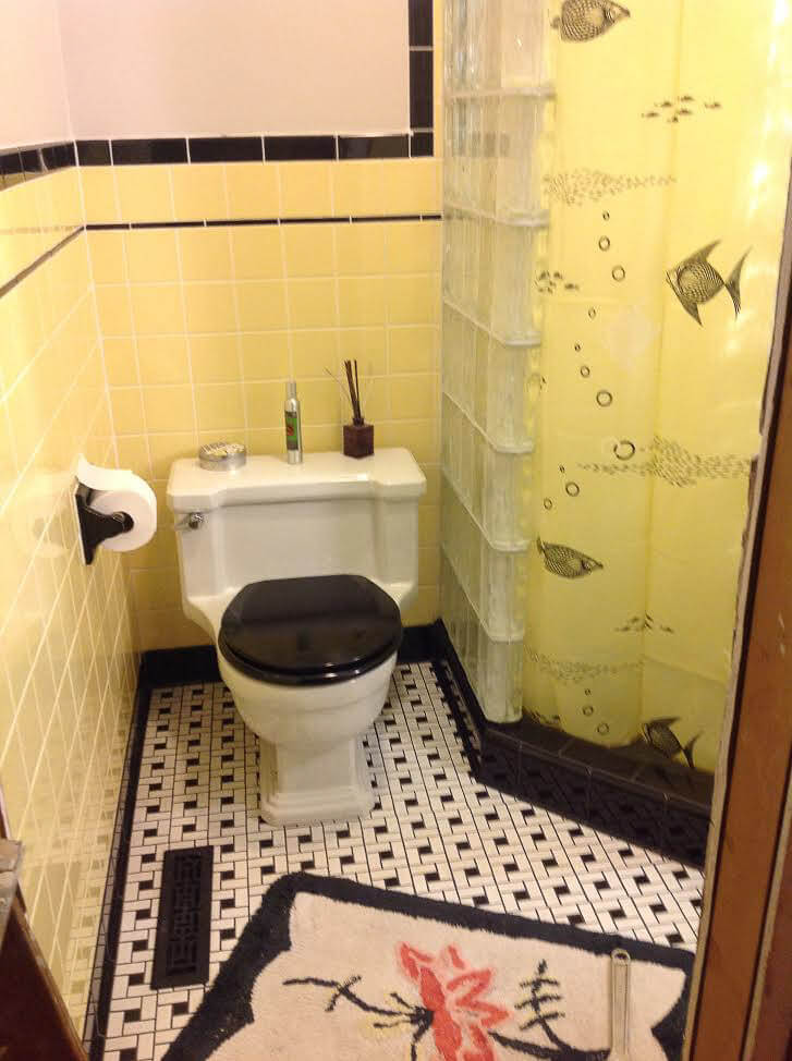 Kari and Tony's super-resourceful bathroom remodel ...