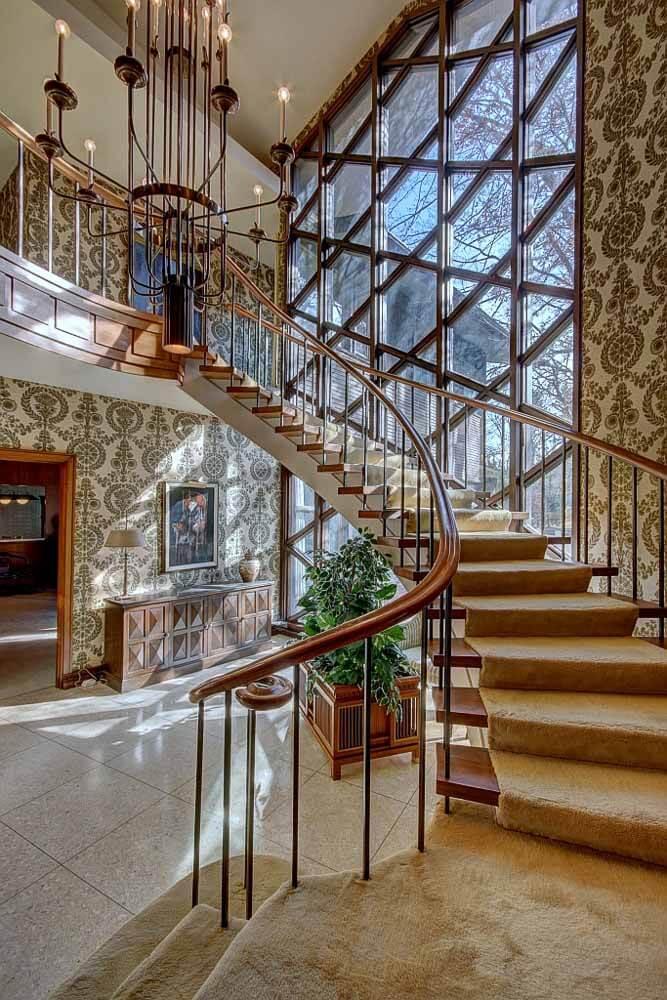 Eb Zeidler architect canada house stairway
