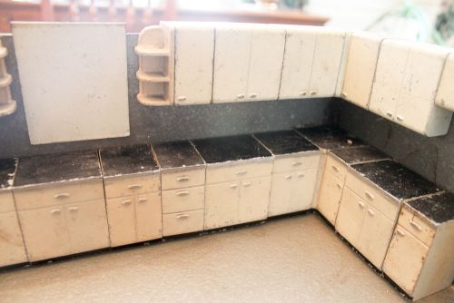 My Rare Lyon Kitchen Cabinets Saleman S Sample Kit With