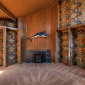 1970s house interior time capsule