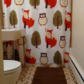 retro vintage bathroom design