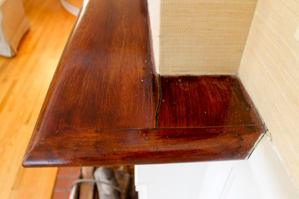 Benjamin moore threw up on my dining room table and for Faux bois painting technique